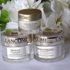 Lancome Absolue Premium Bx Replenishing and Rejuvenating  Day, Night, Eye Cream
