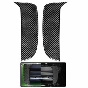 Vehicle Fog lighting strip Carbon Fiber Sticker Decal  For Porsche Macan SUV 2PC