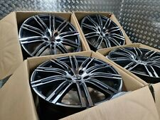 "Mercedes GLS GLE Style 21"" Alloy Wheels Star ML GL Class Grey & Diamond Cut AMG"