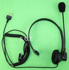 Over-Head Headset/Earpiece Boom Mic VOX For GME UHF CB Radio TX630/TX670/TX680