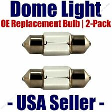 Dome Light Bulb 2-Pack OE Replacement - Fits Listed Toyota Vehicles - DE3175