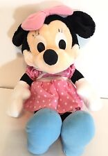 Minnie Mouse Disney Plush You Small Pink 14 Inch