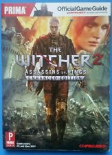 THE WITCHER 2 ASSASSINS OF KINGS ENHANCED EDITION OFFICIAL GAME GUIDE RARE