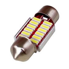 42mm CANBUS LED Festoon Light Bulb Globe NO Error Car Interior 40mm 42mm 12X SMD