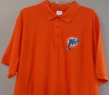 Miami Dolphins NFL Football Old Logo Embroidered Mens Polo S-6XL, LT-4XLT New