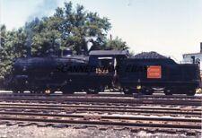 CNR #1533 4 6 0 Allandale Ont Canada July 58 Original Photo-Railroad