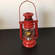 NEW Vintage Meva Red Oil Lamp Made In Czechoslovakia Lantern