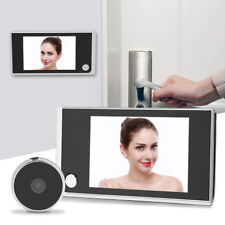 "3.5"" LCD Digital Mirilla Espectador 120° Puerta Vídeo Monitor Cámara Seguridad"