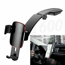 Black Car Cradle Holder For iPhone X Samsung S9 Phone Mount GPS Dash Bracket 1x