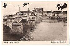 CPA 77 - MONTEREAU (Seine et Marne) - LL. 69 - Le Pont et la Cathédrale