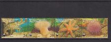 ALDERNEY 1993 WWF MARINE / SEA LIFE STRIP STAMP SET MNH SG A56-A59