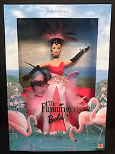 Barbie THE FLAMINGO DOLL Birds of Beauty Collection Brunette 1999 - Mattel - NIB