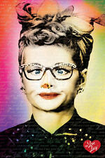 I LOVE LUCY - GLASSES POSTER - 24x36 SHRINK WRAPPED - TEXT CROSS EYED 241088