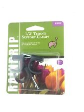 """Raindrip 1/2"""" Tubing Support Clamps - 3 per Card R395C Free Shipping"""