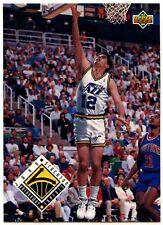 John Stockton #445 Utah Jazz 1993-4 Tarjeta de baloncesto cubierta superior (C503)