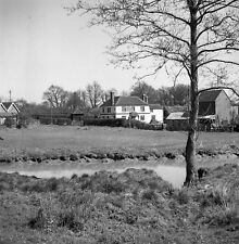 B/W 6x6 Negative Loxwood West Sussex Onslow Arms 1951 + Copyright redb1128