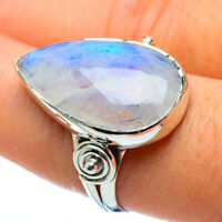 Rainbow Moonstone 925 Sterling Silver Ring Size 9 Ana Co Jewelry R33381F