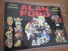 Album + set completo Figurine  Inedito ALAN FORD no n 1 fumetto