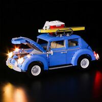 ONLY LED Light Lighting Kit For LEGO 10252 For Volkswagen Model Bricks g * ┆