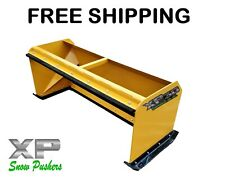 6' Xp30 Pullback Snow Pushers skid steer backhoe Bobcat Free Shipping-Rtr