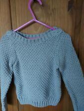 Mini Boden Girls Grey Knitted Jumper 2-3