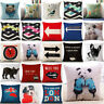 Fashion Throw Pillow Case Cotton Linen Cushion Cover Square Sofa Home Decor