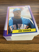 (90) 1990 Topps Dwight Gooden #510 New York Mets NM-MT+ Lot