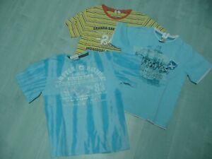 3x Shirt / Oberteil / T-Shirt  - Größe 122