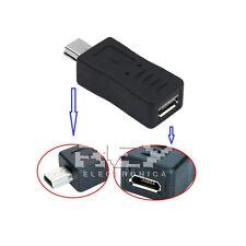 """Adaptador Mini USB Macho a Micro USB Hembra """"ENVÍO DESDE ESPAÑA"""" v312"""