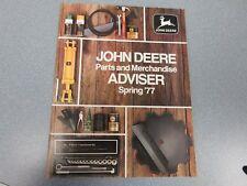 (9) Nice John Deere Original Brochures & Manuals