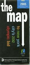 2005 February New York Subway Olympic Bid  Map MINT