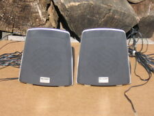 A Pair Of 16 ohm Sharp Surround Sound  Speaker Systems In Good Condition!