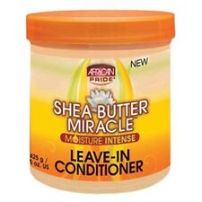 AFRICAN PRIDE SHEA BUTTER MIRACLE LEAVE IN CONDITIONER 425g
