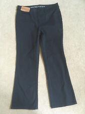 """NEXT Ladies Black High Rise Mini Bootcut Jeans Size 10 Reg Leg 25.5"""""""