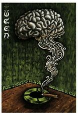 EMEK mini Art Poster Print Ween Smoking Brain La Cucaracha
