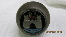RARE ORIGINAL VW VOLKSWAGEN WOOD SHIFTER KNOB, GERMANY INLAY