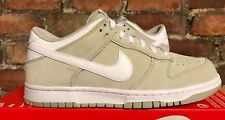 Nike Dunk Low UK7 EU41 Pálido Gris Blanco 904234 002 Skate Baloncesto