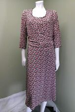 Charter Club Womens Dress Beautiful Berry Ball Multicolor Fitted Dress $89.50