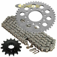 Drive Chain & Sprockets Kit Fits HONDA CBR600F Hurricane 600 1987 1988 1989 1990