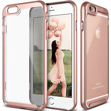 For iPhone X 8 6S 7 Plus Case Clear Hybrid Shockproof Soft TPU Bumper Hard Cover