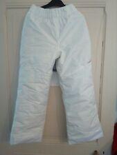Pantalon de ski enfant 100 blanc WED'ZE, neuf jamais porté, taille 10 ans.