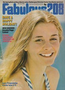 FABULOUS / FAB 208 Magazine (9 June 1973)  New Seekers