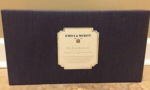 NEW Pottery Barn Teen Emily & Meritt Rectangle Light Box NO MONOGRAM Gold