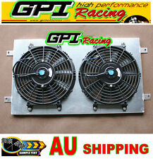 Aluminum RADIATOR shroud + Thermo Fan Holden TORANA HQ HJ HX HZ Kingswood V8