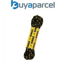 Dewalt Boot Shoe Laces 150mm Polyester Cotton 1 Pair