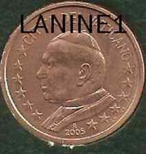 5 CENT DU COFFRET BU VATICAN 2005 (RARE)