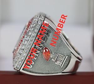 Custom Name&Number 2021 Fantasy Football League Champion FFL Winner Ring 7-16S