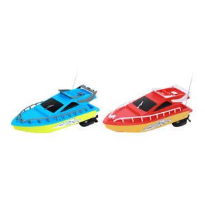 Mini Remote Control Boat High Speed Rowing Ship Summer Water Speedboat Toy