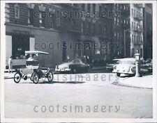 1959 Vintage Buggy Auto Drives NYC Street 1950s Press Photo