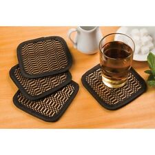 SET OF 4 BAMBOO COASTER SET